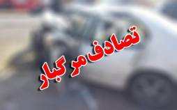 واژگون شدن سرویس کارکنان پالایشگاه اصفهان,اخبار حوادث,خبرهای حوادث,حوادث