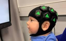 کلاهی برای بررسی مغز نوزادان