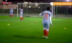 فیلم/ آغاز لیگ فوتبال زنان عربستان بدون حجاب اجباری