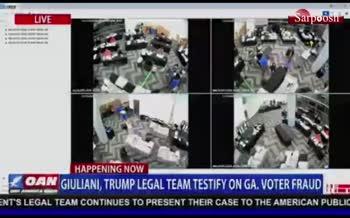 فیلم/ مدارک ستاد ترامپ از عدم نظارت بر شمارش آراء در انتخابات آمریکا