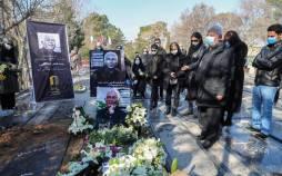 تصاویر مراسم تشییع و خاکسپاری اصغر عبداللهی,عکس های تشییع پیکر اصغر عبداللهی,تصاویر تشییع جنازه اصغر عبداللهی