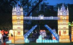 تصاویر جشنواره نور در سنگاپور,عکس های جشنواره نور,تصاویر جشنواره نور سنگاپور