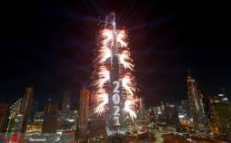 تصاویر جشن سال نوی میلادی 2021 در جهان,عکس های جشن سال نو میلادی,تصاویر جشن سال نو 2021
