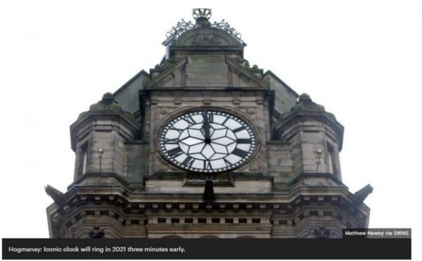 ساعت مشهور اسکاتلند,عکس ساعت