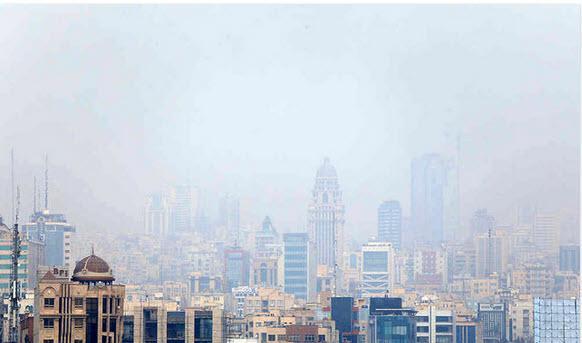 آلودگی هوای تهران,شاخص کیفیت هوای تهران