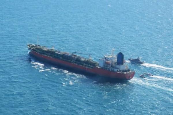 توقیف کشتی کره ای,توقیف نفتکش کرهجنوبی