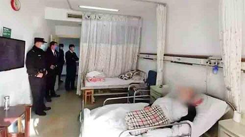 خانواده چینی در بیمارستان,بستری شدن خانواده چینی در بیمراستان برای 6 سال