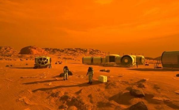 تأمین سوخت فضاپیماها در مریخ,مریخ