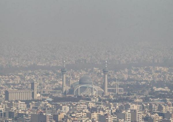 آلودگی هوا اصفهان,تعطیلی اصفهان در 22 دی 99