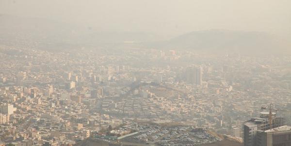 آلودگی هوا اصفهان,تعطیلی اصفهان در 23 دی 99