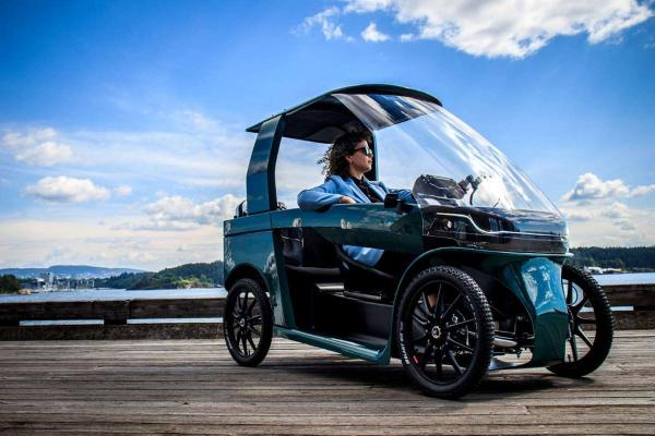 چهارچرخه برقی CityQ,چهارچرخه برقی