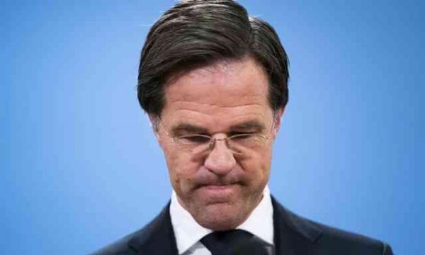 کابینه هلند,استعفای کابینه هلند