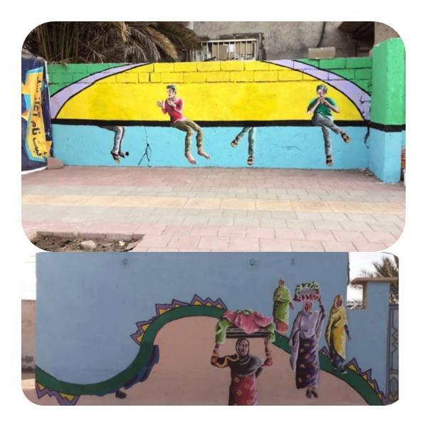 حذف سازهای محلی از نقاشیهای دیواری جزیره هرمز,نقاشیهای دیواری جزیره هرمز