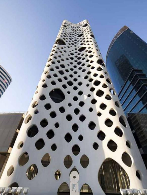 ساختمانهای ابداعی در شهر آینده,ساختمان های زیبا