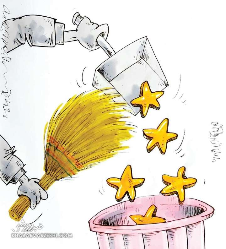 کاریکاتور در مورد عاقبت عاقبت فدراسیون فوتبال,کاریکاتور,عکس کاریکاتور,کاریکاتور ورزشی