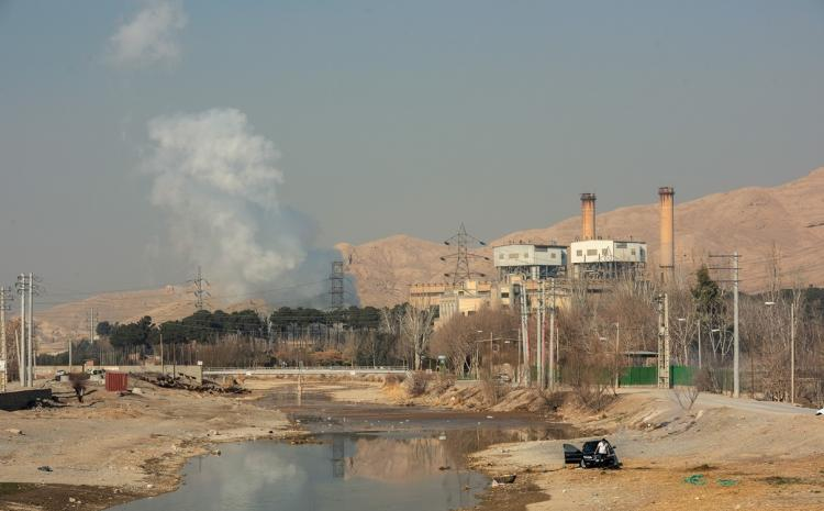 تصاویر مازوت ها در هوای ایران,عکس های نقش مازوت ها در آسمان,تصاویر مازوت ها عامل آلودگی هوا