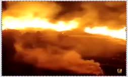 فیلم/ آتش سوزی در بخشهای وسیعی از جنگلها و مراتع گیلان
