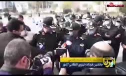 فیلم/ هشدار جانشین فرمانده ناجا به اوباش: اگر در صحنه درگیری، قمه در دست داشت باید دست شکسته ببینمش