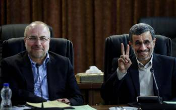 احمدی نژاد,قالیباف