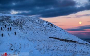 تصاویر تپههای پوشیده از برف اسکاتلند,عکس تپه های برفی در اسکاتلند,تصاویری از تپه های پوشیده از برف در کشور اسکاتلند