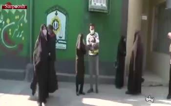 فیلم/ ترفند عجیب یک زن سارق برای سرقت طلای بانوان