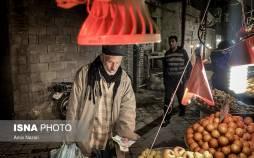 تصاویر بازار دزفول در وضعیت قرمز کرونا,عکس های بازار دزفول در شرایط کرونا,تصاویری از بازار دزفول
