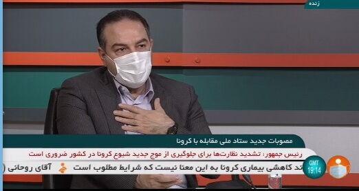 زالی و رئیسی,جولان کرونا در تهران