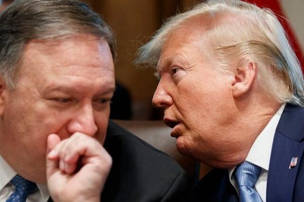 وزارت امور خارجه آمریکا و ترامپ,تحریم ترامپ
