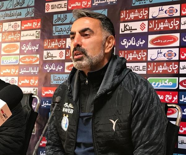 محمود فکری و مجید جلالی,کنفرانس خبری استقلال نساجی