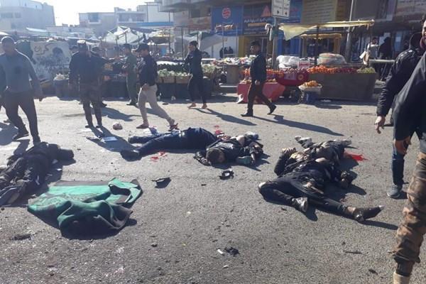 وقوع انفجار انتحاری در بغداد,انفجار در بغداد