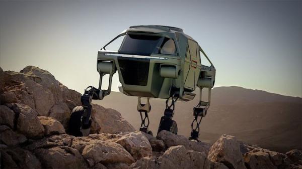 خودروی مفهومی با قابلیت راه رفتن,شرکت هیوندا