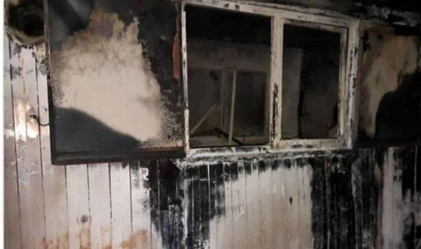 حادثه آتشسوزی کانکس معلمان سردشت دزفول,آتش سوزی کانکس معلمان