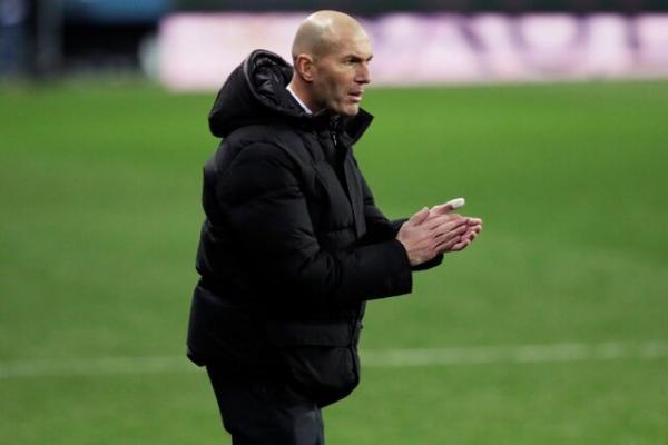 زین الدین زیدان,سرمربی رئال مادرید