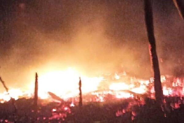 وقوع ۶ فقره آتش سوزی در جنگل های گیلان,آتش سوزی در جنگل های گیلان