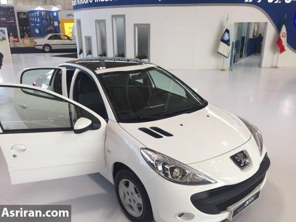تولید خودروهای رانا و دنا با سقف شیشه ای توسط ایران خودرو !