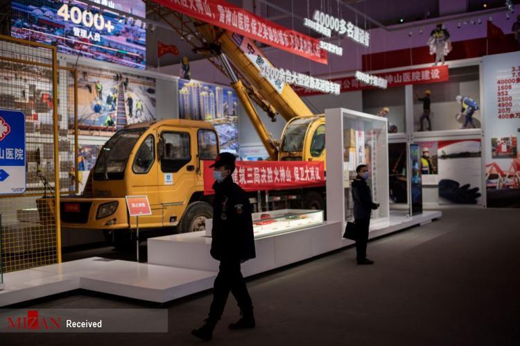 تصاویر نمایشگاه کرونا در ووهان,عکس های نمایشگاه کرونا در چین,تصاویر نمایشگاه شیوع کرونا در چین
