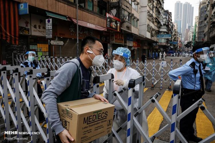 تصاویر محدودیت کرونا در هنگ کنگ,عکس های محدودیت های کرونا در کشور هنگ کنگ,عکس محدودیت های جدید کرونایی در هنگ کنگ