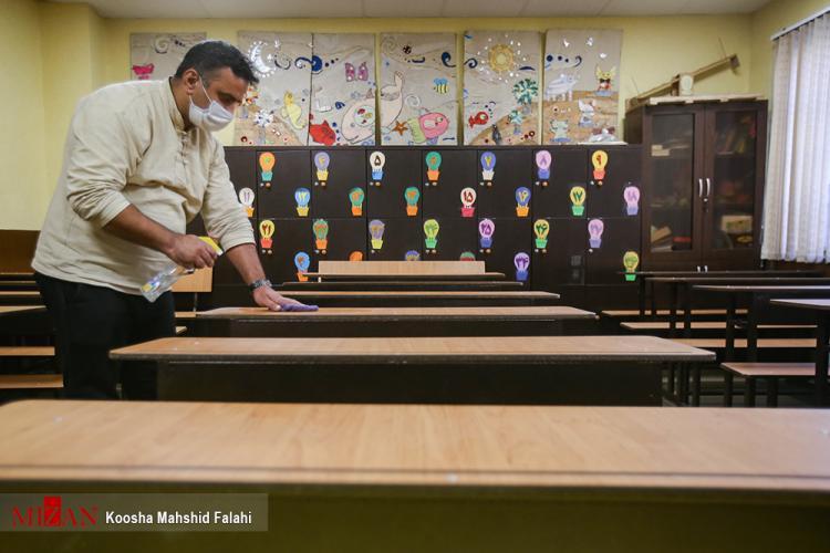 تصاویر بازگشایی دوباره مدارس,عکس های باز شدن مدارس کشور,تصاویر بازگشایی مدارس در شرایط کرونا,عکس بازگشایی مدارس ایران