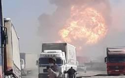 آتشسوزی تاسیسات گمرکی اسلامقلعه افغانستان,انفجار در گمرک