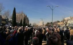 فوت یک نفر در تجمع بازنشستگان اصفهان,اعتراضات بازنشستگان در اصفهان