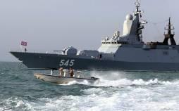 تصاویر رزمایش مرکب دریایی ایران و روسیه,عکس های رزمایش ایران و روسیه,تصاویر رزمایش دریایی ایران و روسیه