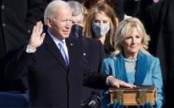 تصاویر مراسم تحلیف جو بایدن,عکس سیاسیون در مراسم تحلیف جو بایدن,تصاویر اوباما و بوش در مراسم تحلیف جو بایدن