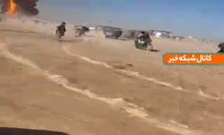 فیلم | انفجار در مرز ایران و افغانستان/ از تلفات خبری در دست نیست!