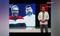فیلم/ اشک های حامد آهنگی برای علی انصاریان و مهرداد میناوند
