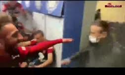 فیلم/ شادی پرسپولیسی ها در رختکن پس از برتری پرگل