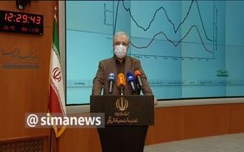 فیلم/ وزیر بهداشت: زنگ خطر خيز کرونا در ايران به صدا درآمد