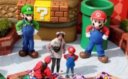 تصاویر افتتاح پارک بازی قارچ خور در ژاپن,عکس های پارک قارچ خور,تصاویر پارک سوپر ماریو در ژاپن