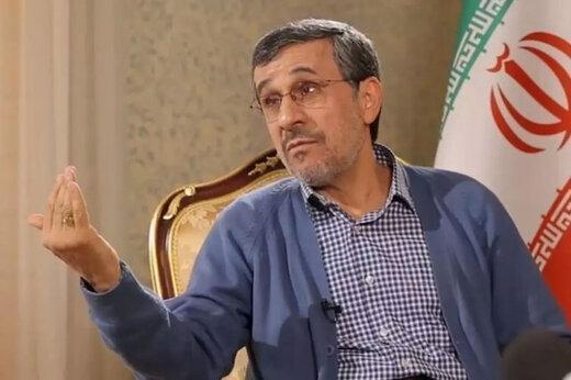 مصاحبه جدید احمدی نژاد,اظهارات جدید احمدی نژاد