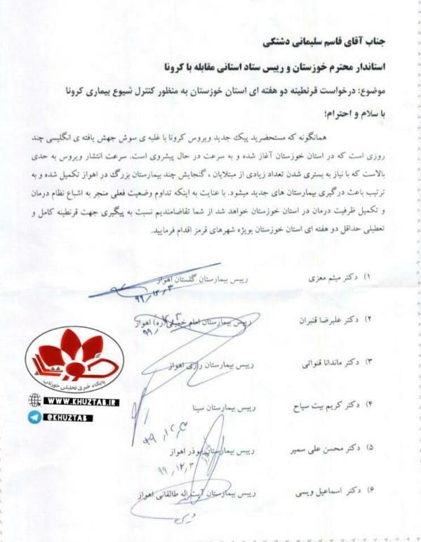 قرنطینه خوزستان, اقدامات انجامشده در خوزستان برای مقابله با شیوع ویروس کرونا