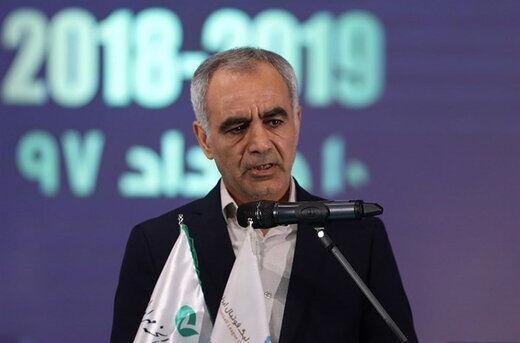 حیدر بهاروند, سرپرست سازمان لیگ
